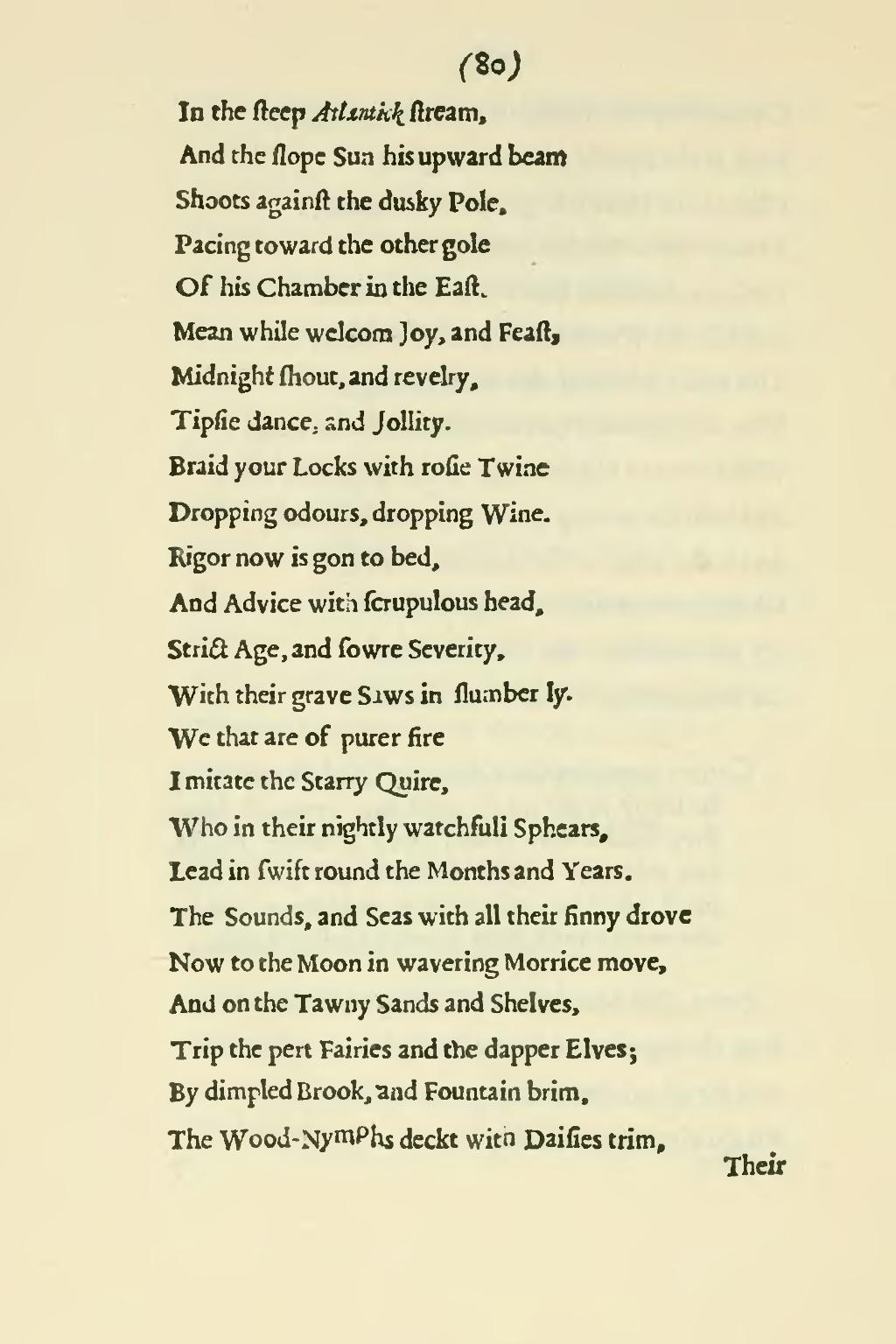 Page Poems Of Mr John Milton Both English And Latin