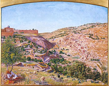 English: Jerusalem and the Valley of Jehoshaph...