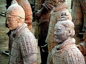 Terracotta Army detail, Xi'an, China Photo by ...