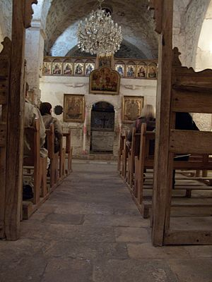 View into one of the oldest churches in the Wo...