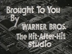 Cropped screenshot of the Warner Brothers film...