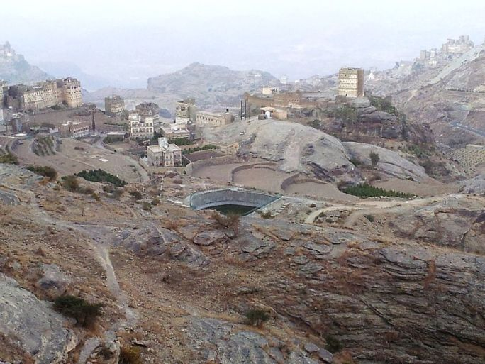 Water reservoir, yemen