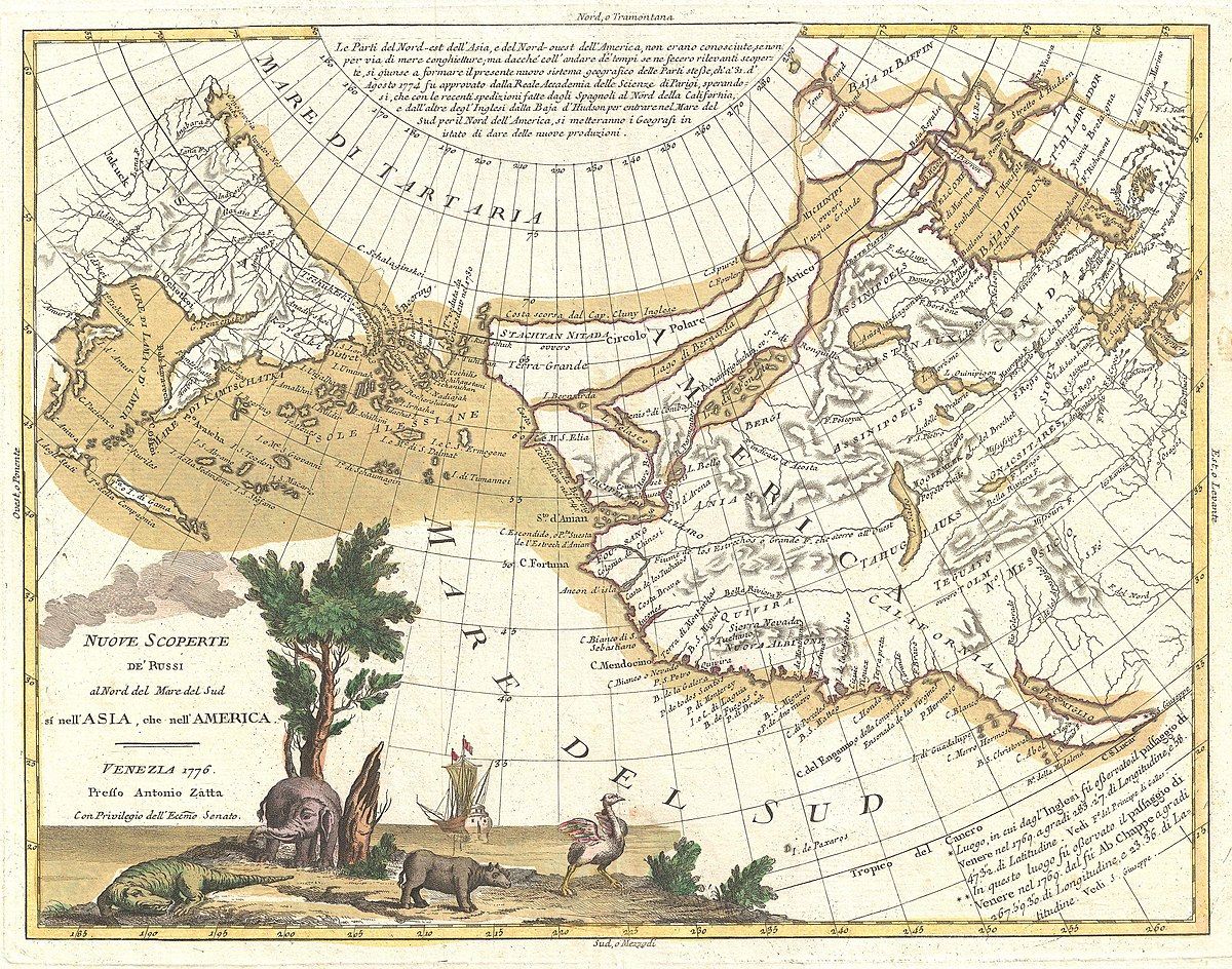 File 1776 Zatta Map Of California And The Western Parts Of North America Geographicus Americawest Zatta 1776 Jpg Wikimedia Commons