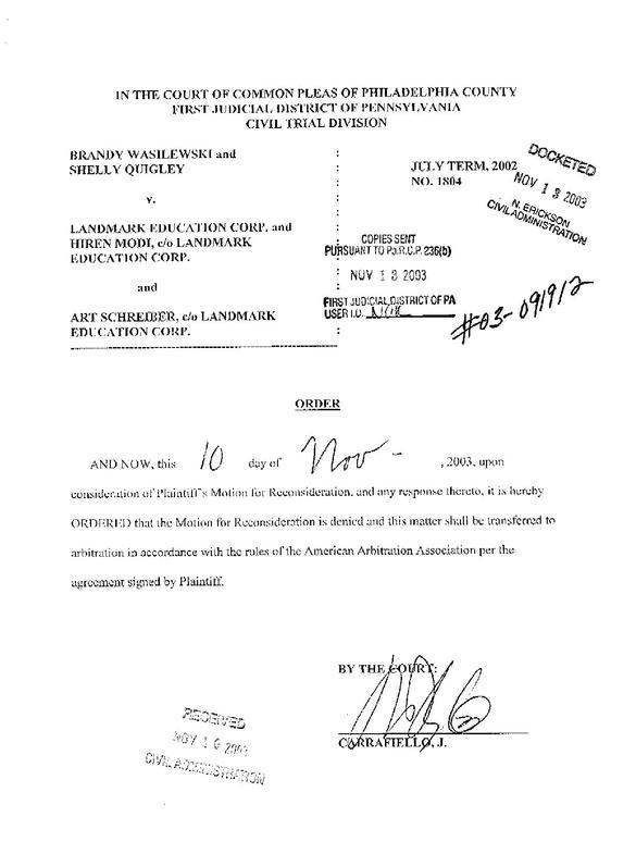 File 2002 Quigley V Landmark Court Order Pdf Wikimedia