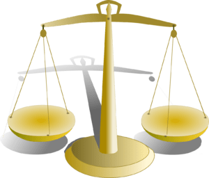 justice balance Français : balance de la justice