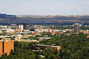 English: Look at Downtown Billings, Montana, USA