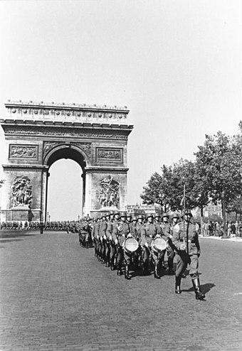 La France Dans La Seconde Guerre Mondiale : france, seconde, guerre, mondiale, Occupation, France, L'Allemagne, Pendant, Seconde, Guerre, Mondiale, Wikiwand