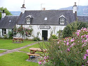 English: Dores Inn Superb historic village inn...