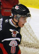 English: Dylan McIlrath of the Moose Jaw Warriors