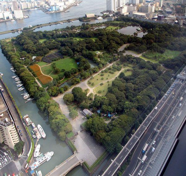 hamarikyu gardens - wikipedia