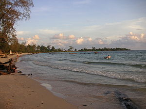 Independence Beach near Sihanoukville