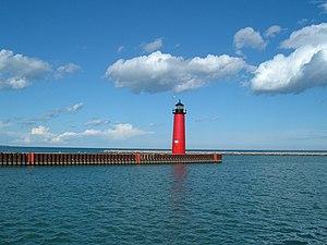 Kenosha North Pier Lighthouse Photo taken by D...