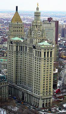 Manhattan Municipal Building  Wikipedia