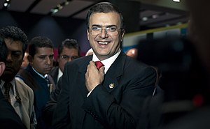 English: Marcelo Ebrard, chief of government o...