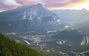 And out of all of them, cascade mountain was calling to me. Cascade Mountain Alberta Wikipedia