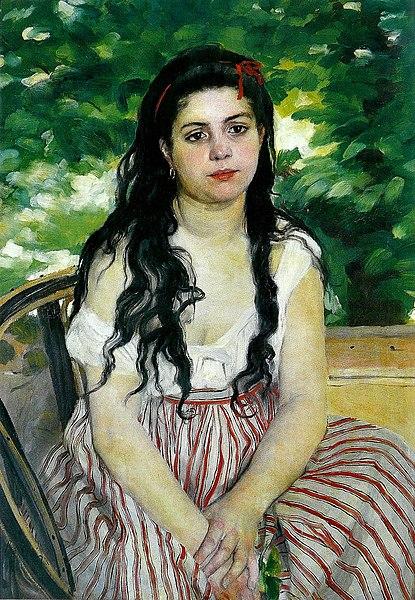 File:Pierre-Auguste Renoir - En été (La Bohémienne).jpg