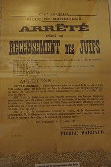 Les Grandes Familles Juives D Algerie : grandes, familles, juives, algerie, Shoah, France, Wikipédia