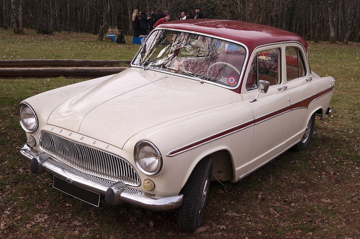 50s Classic Cars Wallpaper Simca Aronde Wikipedia