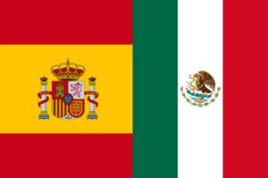 Spanish language flags