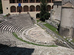 Ancient Roman theatre (Spoleto)