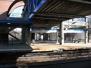 English: Suffolk Downs MBTA station, East Boston