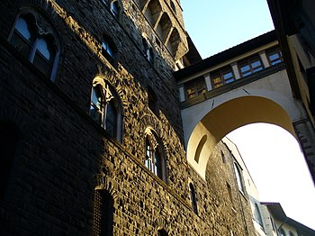 English: Vasari Corridor