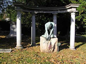 English: The grave of Vernon & Irene Castle in...