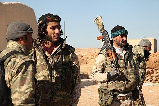 YPG fighters Raqqa (December 2016)