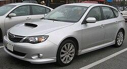 2008 Subaru Impreza WRX Hatchback (US)