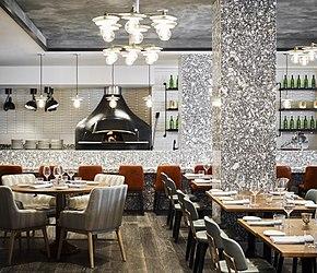 Modern Fancy Restaurant Interior 4