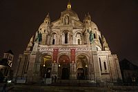 Basilica of the Sacred Heart of Christ Night view.jpg