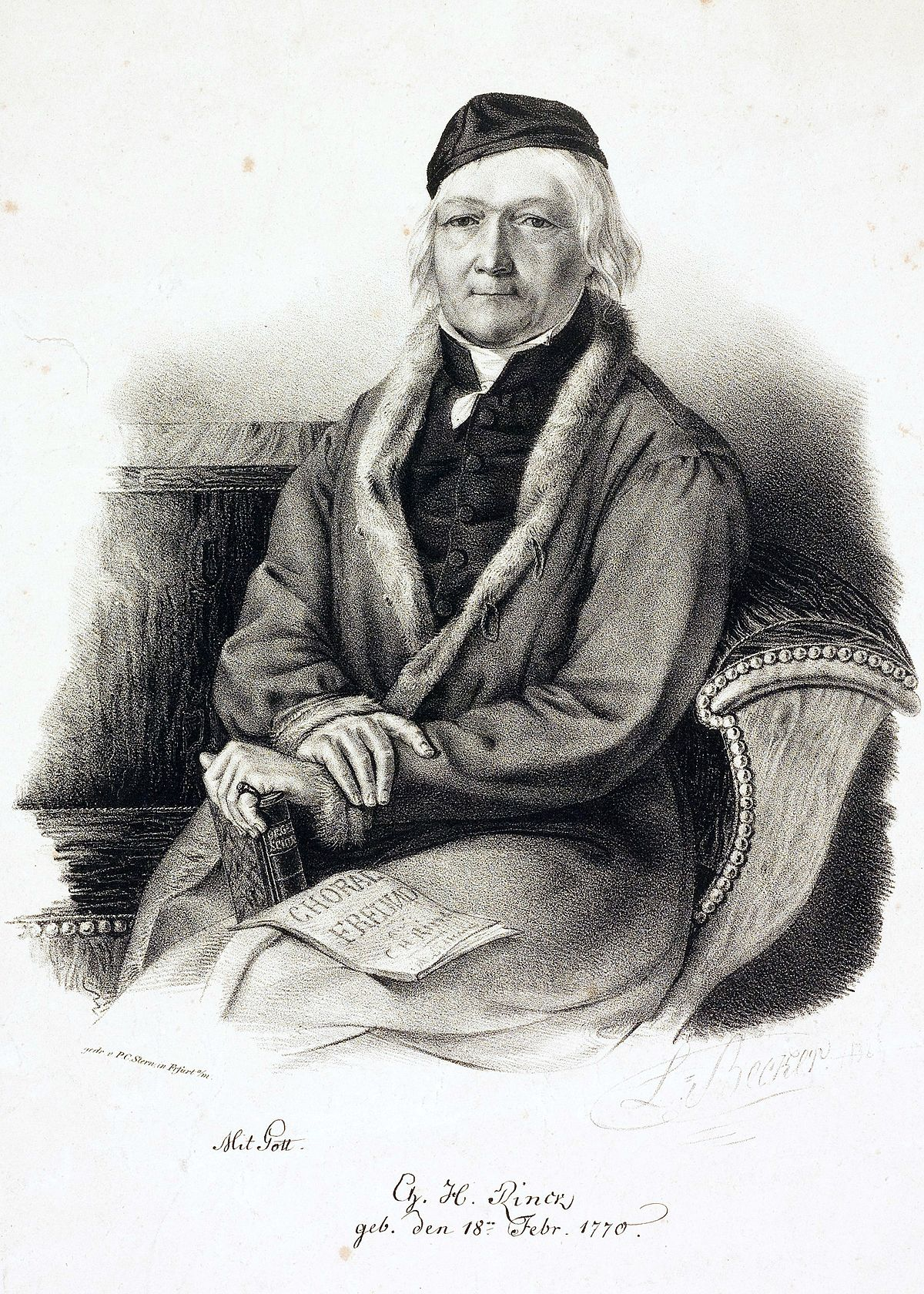 Johann Christian Heinrich Rinck Wikipdia