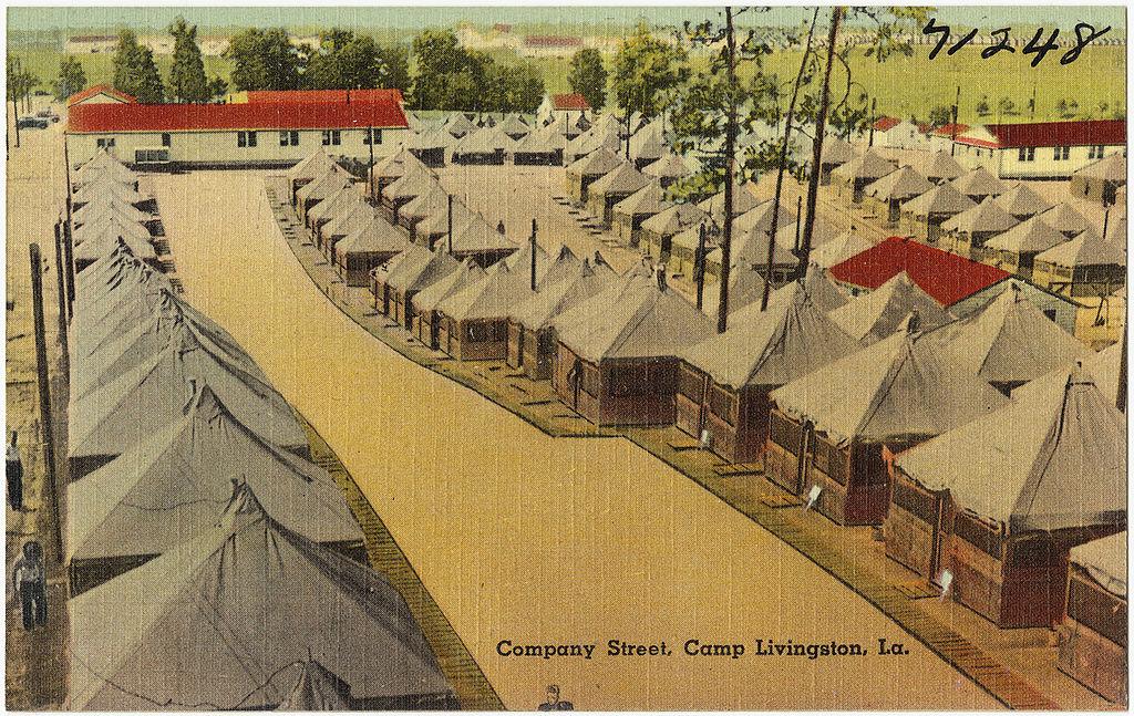 File Company Street Camp Livingston La Jpg Wikimedia Commons