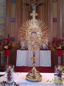 Eucharistic Adoration - Monstrance