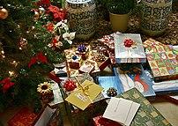 Christmas gifts.