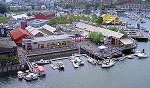 Granville Island in Vancouver.