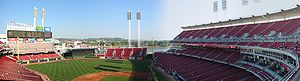 Great American Ball Park, Cincinnati.