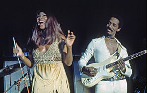 Ike Turner and Tina Turner, Hamburg Germany, N...