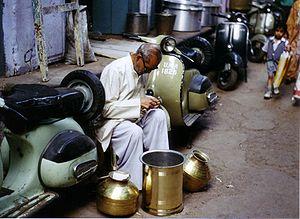 Agra, India, street craft.