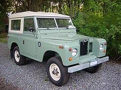 1971 Land Rover Series IIa.