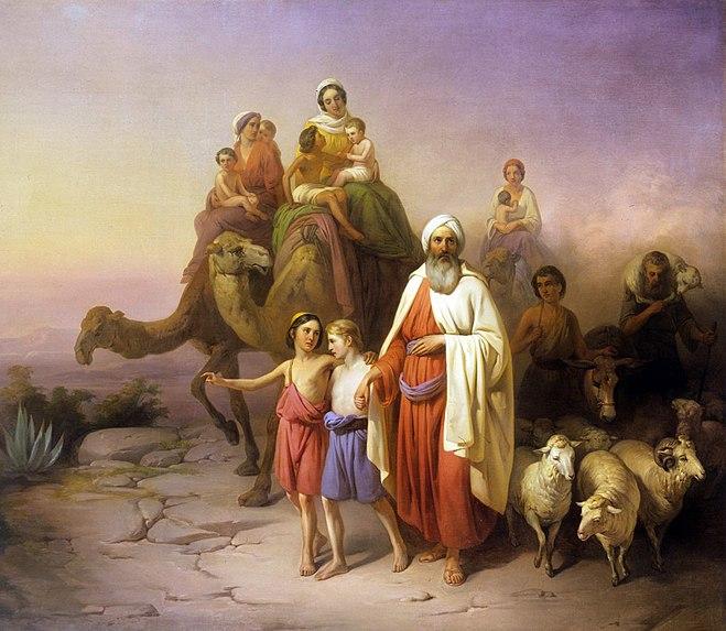 File:Molnár Ábrahám kiköltözése 1850.jpg