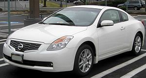 2008-2009 Nissan Altima photographed in Rockvi...