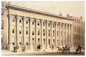Painting of the Royal Institution of Great Bri...