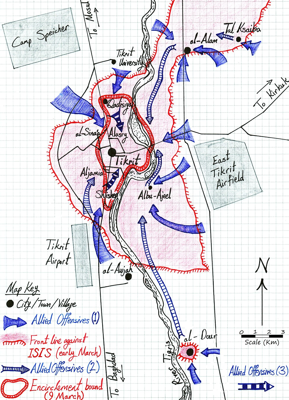 Second Battle of Tikrit Wikipedia
