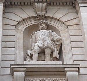 Statue Of Sir Thomas Gresham-Royal Exchange-London