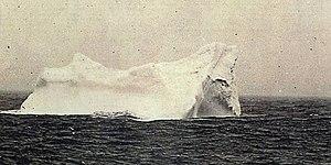 Titanic Eisberg