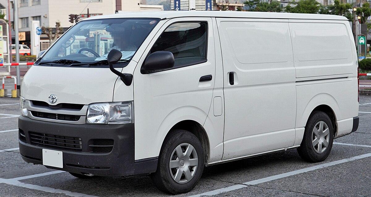 Toyota Hiace  Wikipedia, La Enciclopedia Libre