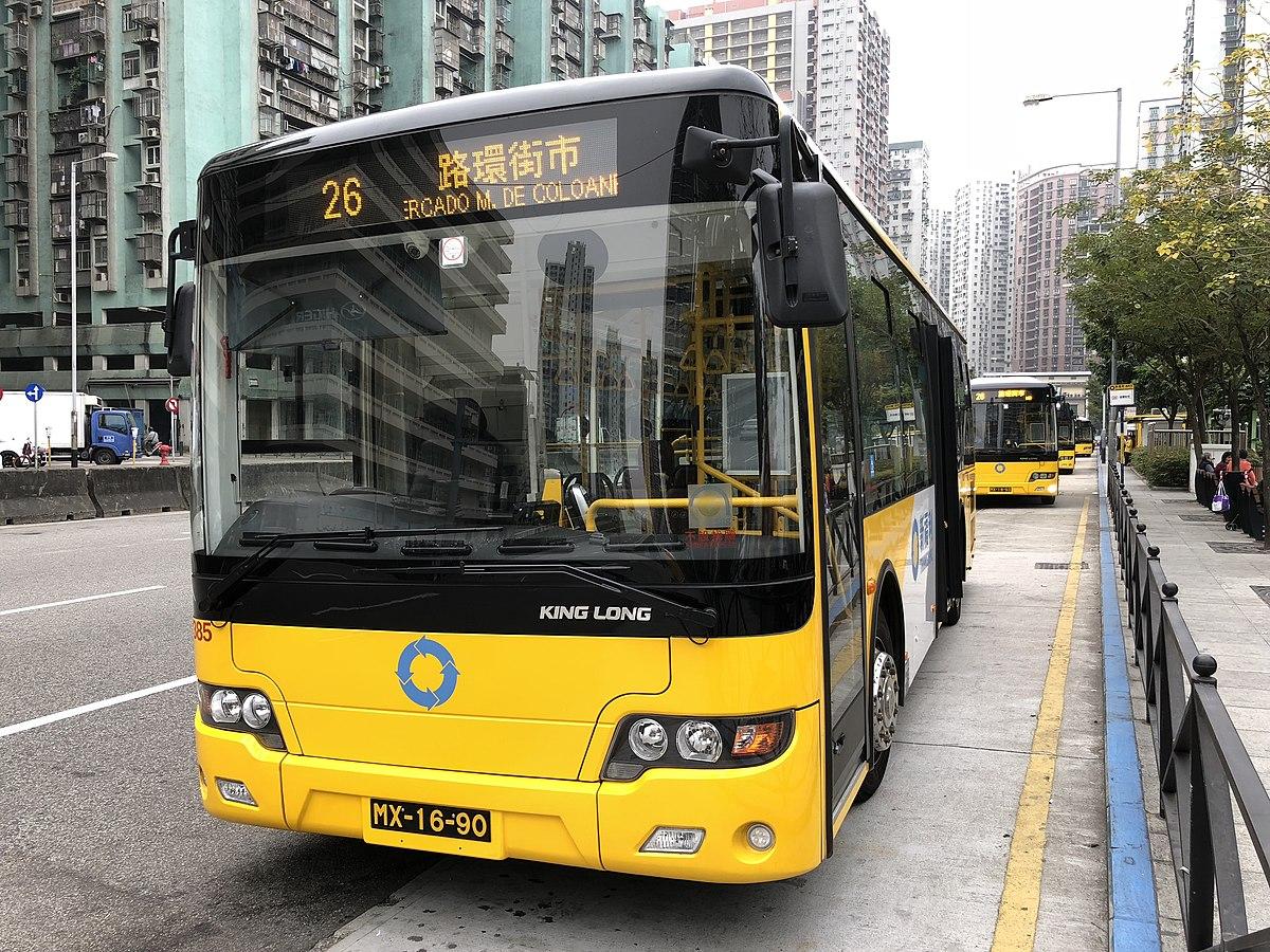 澳門巴士26路線 - 維基百科,自由的百科全書