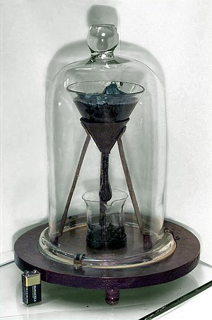 English: The pitch drop experiment, a long-ter...