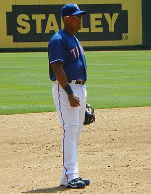 English: Third Baseman Adrián Beltré